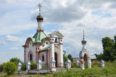 церковь в veslevo, переславль-залесский, золотое кольцо россии. — Стоковое фото