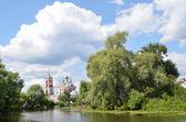 Kostel čtyřiceti mučedníků sebast v pereslavl zalesskij, zlatý prsten ruska. — Stock fotografie