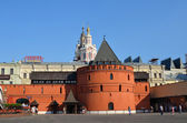 Views of Moscow, the historic centre, Theatre (Revolution) square — Stock Photo