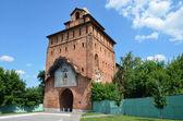 Kolomna Kremlin, gate tower, Golden ring of Russia — Stock Photo