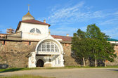 Russia, Solovetsky monastery, Holy gate. — 图库照片
