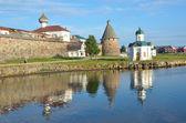 Rusia, monasterio de solovetsky — Foto de Stock