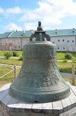 большой колокол соловецкого монастыря, россия. — Стоковое фото