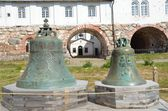 The bells of Solovetsky monastery, Russia. — Stock Photo