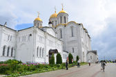 Uspensky cathedral in Vladimir, Golden ring of Russia — Stock fotografie