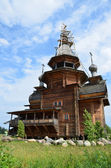 Sergievskaya Kirche in der Nähe des Dorfes Vzglyadnevo, Sergijew Possad District, Region Moskau — Stockfoto