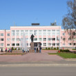 Administration building in the city of Murom, Vladimir Oblast — Stock Photo