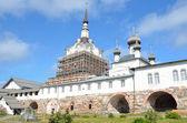 Solovecké klášter, rusko. — Stock fotografie