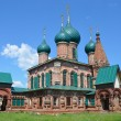 Yaroslavl, ensemble of churches in Barns (Korovniky), 17 century. — Stock Photo
