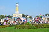 Kostroma, un día de la ciudad, plaza de susaninskaya — Foto de Stock