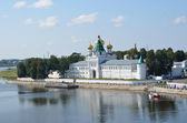 Ipatievsky monastery in Kostroma, Golden ring of Russia. — Stock Photo