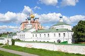 Klasztor spaso preobrażenskij katedra i kremla riazań — Zdjęcie stockowe