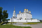 Uspensky cathedral in Vladimir, golden ring of Russia — Stock Photo