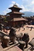 ネパール、バクタプルの taumadhi 広場 — ストック写真