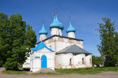 The Annunciation (Blagoveschensky) Cathedral in the town of Gorokhovets, the golden ring of Russia — Stock Photo