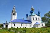 Kazanskaya church in the town of Gorokhovets, the golden ring of Russia — Stock Photo