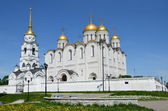 Uspensky cathedral in Vlsdimir, the golden ring of Russia — Stock Photo