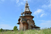 The Church of Sergiy Radonejsky near the village of Vzglyadnevo, Moscow region — 图库照片