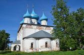 在镇的 gorokhovets,俄罗斯金环报喜 (blagoveschensky) 大教堂 — 图库照片