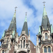 Church of STS. Olga and Elizabeth in Lviv, Ukraine — Foto de Stock