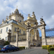 St. George's Cathedral in Lviv — Foto de Stock