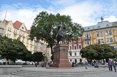Panorama of Lviv in autumn, Ukraine. — Photo