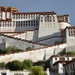 Stock Photo: Tibet, PotalPalace in Lhasa, residence of Dalai Lamas
