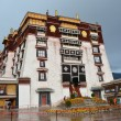 Stock Photo: Tibet, PotalPalace in Lhasa, residence of Dalai Lamas.