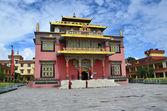 Nepal, Kathmandu, Nyingmapa buddist monastery near Bodnath stupa — Stock Photo