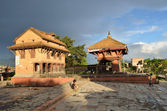 Bhaktapur, Nepal, Hindu temples — Stock Photo