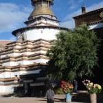 Tibet, Gyfndze, monastery Pelkor Chode, stupa Kumbum, 15 century. — Stock Photo #35192453