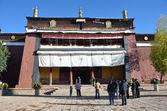 Tibet, Gyfndze, monastery Pelkor Chode, 15 century. — Stock Photo