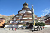 Tibet, gyfndze, monastero pelkor chode, stupa kumbum, 15 secolo — Foto Stock