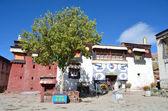 Tibet, Gyfndze, monastery Pelkor Chode, 15 century. — Foto Stock