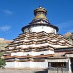 Tibet, Gyfndze, monastery Pelkor Chode, stupa Kumbum, 15 century — Stock Photo #35298941
