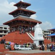 Shiva temple at Kathmandu Darbar square, 1690. — Stock Photo