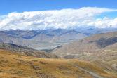 Tibetan plateau — Stock Photo