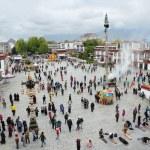 Tibet, panorama of Lhasa — Stock Photo #35389395