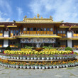 Stock Photo: Tibet, Lhasa, Summer residence of Dalai Lama
