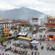 Tibet, panorama of Lhasa — 图库照片