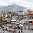 Tibet, panorama of Lhasa — Stock Photo