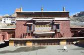 Tibet, Gyandze, Buddhist monastery of 15 century Pelkor Chode — 图库照片