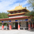Stock Photo: Tibet, Lhasa, Pergolin summer residence of Dalai Lama