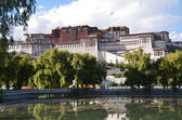 Tibet, the Potala Palace in Lhasa, the residence of Dalai Lamas — Stock Photo