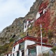 Tibet, the Himalayas, monastery Drag Verpa in the caves. — 图库照片