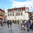 Tibet, Lhasa, the first Buddhist temple in Tibet, the Jokhang — Stock Photo #36020737