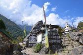 Nepal, Buddhist sanctuaries in Himalayes — Foto de Stock