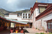 Tibet, Lhasa, Buddist monastery Sera. 15 century. — Stock Photo