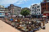 Praça de nepal, kathmandu, bastinpur. — Foto Stock