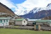 Nepal, the Himalayas, village Kumjung. — Stock Photo